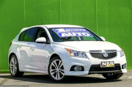 2014 Holden Cruze JH Series II MY14 SRi Z Series Heron White 6 Speed Sports Automatic Hatchback Ringwood East Maroondah Area Preview