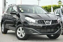 2011 Nissan Dualis J10 Series II MY2010 Black 6 Speed Constant Variable Hatchback Springwood Logan Area Preview