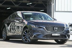 2015 Mazda 6 6C MY15 Atenza Grey 6 Speed Automatic Sedan Mosman Mosman Area Preview