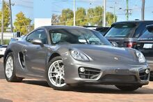 2014 Porsche Cayman 981 PDK Grey 7 Speed Sports Automatic Dual Clutch Coupe Osborne Park Stirling Area Preview