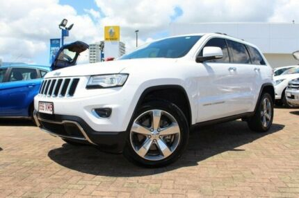 2014 Jeep Grand Cherokee White Sports Automatic Wagon