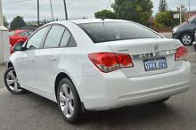 2014 Holden Cruze JH Series II MY14 Equipe White 6 Speed Sports Automatic Sedan Morley Bayswater Area Preview