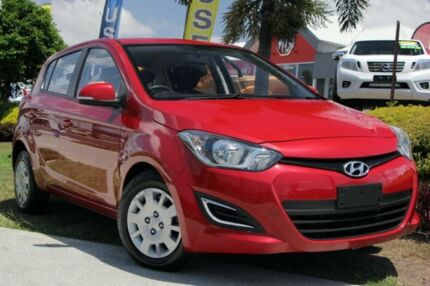 2015 Hyundai i20 PB MY15 Active Red 4 Speed Automatic Hatchback