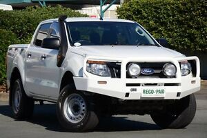 2012 Ford Ranger PX XL Double Cab White 6 Speed Sports Automatic Utility Acacia Ridge Brisbane South West Preview