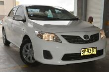 2013 Toyota Corolla ZRE152R Ascent White 4 Speed Automatic Sedan Pearce Woden Valley Preview
