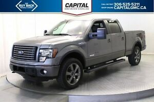 2012 Ford F-150 SuperCrew *Tonneau Cover-Navigation-Heated/Coole