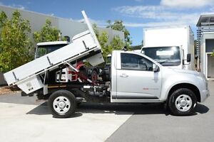 2012 Holden Colorado RG MY13 LX Silver 6 Speed Sports Automatic Cab Chassis Robina Gold Coast South Preview