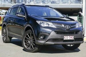 2013 Toyota RAV4 ZSA42R GX 2WD Black 7 Speed Constant Variable Wagon Hillcrest Logan Area Preview