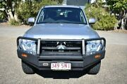 2012 Mitsubishi Pajero NW MY12 GLX Silver 5 Speed Sports Automatic Wagon Woodridge Logan Area Preview