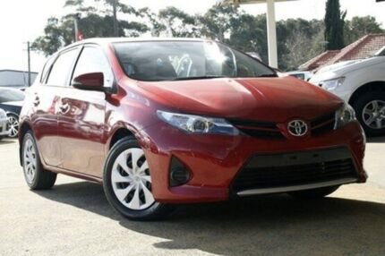 2013 Toyota Corolla ZRE182R Ascent S-CVT Wildfire 7 Speed Constant Variable Hatchback Greenacre Bankstown Area Preview