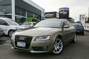 2010 Audi A5 8T MY10 Sportback S tronic quattro Gold 7 Speed Sports Automatic Dual Clutch Hatchback Nunawading Whitehorse Area Preview