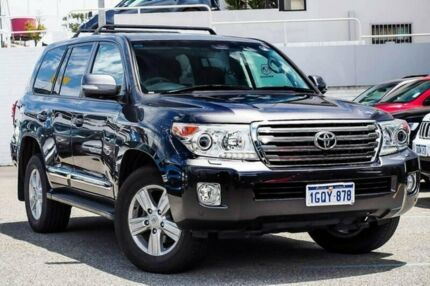 2015 Toyota Landcruiser VDJ200R MY13 Sahara Grey 6 Speed Sports Automatic Wagon Myaree Melville Area Preview