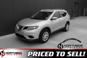 2016 Nissan Rogue AWD S Accident Free,  Back-up Cam,
