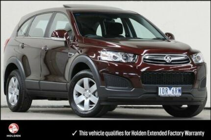 2014 Holden Captiva CG MY14 Burgundy 6 Speed Auto Seq Sportshift Wagon Vermont Whitehorse Area Preview