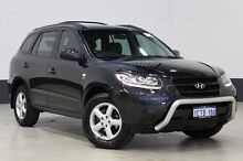 2008 Hyundai Santa Fe CM MY07 Upgrade SX (FWD) Black 5 Speed Automatic Wagon Bentley Canning Area Preview