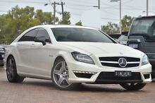 2013 Mercedes-Benz CLS63 C218 MY13.5 White 7 Speed Sports Automatic Sedan Osborne Park Stirling Area Preview