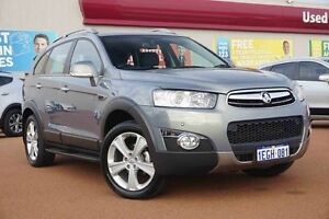 2012 Holden Captiva CG Series II MY12 7 Grey 6 Speed Sports Automatic Wagon Glendalough Stirling Area Preview