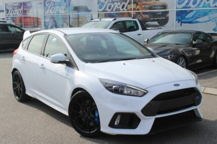 2017 Ford Focus LZ RS Frozen White 6 Speed Manual Hatchback
