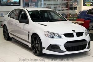 2016 Holden Special Vehicles Clubsport GEN-F2 R8 SV Black LS3 Heron White 6 Speed Manual Sedan Waitara Hornsby Area Preview