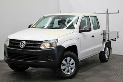 2012 Volkswagen Amarok 2H MY12.5 TDI400 4x2 White 6 Speed Manual Cab Chassis Seven Hills Blacktown Area Preview