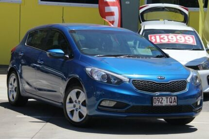 2013 Kia Cerato TD MY13 SI Blue 6 Speed Sports Automatic Hatchback East Toowoomba Toowoomba City Preview