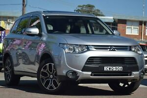 2014 Mitsubishi Outlander ZJ MY14.5 Aspire (4x4) Silver 6 Speed Continuous Variable Wagon Waitara Hornsby Area Preview