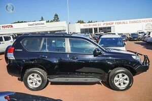 2011 Toyota Landcruiser Prado KDJ150R GXL Black 5 Speed Sports Automatic Wagon Westminster Stirling Area Preview