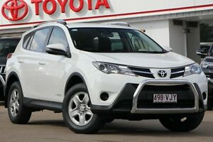 2014 Toyota RAV4 ALA49R MY14 GX AWD White 6 Speed Sports Automatic Wagon Woolloongabba Brisbane South West Preview