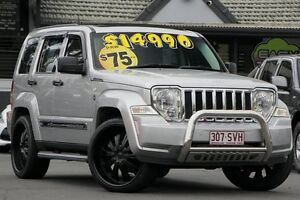 2008 Jeep Cherokee KK MY08 Sport Silver 4 Speed Automatic Wagon Bray Park Pine Rivers Area Preview
