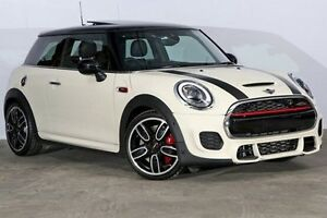 2015 Mini Hatch F56 John Cooper Works Pepper White 6 Speed Sports Automatic Hatchback Alexandria Inner Sydney Preview