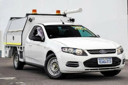 2012 Ford Falcon FG MkII EcoLPi Super Cab White 6 Speed Sports Automatic Cab Chassis Maddington Gosnells Area Preview