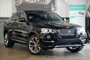 2015 BMW X4 F26 xDrive20i Coupe Steptronic Black 8 Speed Automatic Wagon