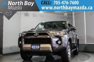 2016 Toyota 4Runner SR5 With AWD, Heated Seats, Bluetooth