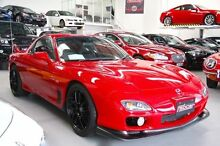 2000 Mazda RX7 FD Red 5 Speed Manual Coupe Beckenham Gosnells Area Preview