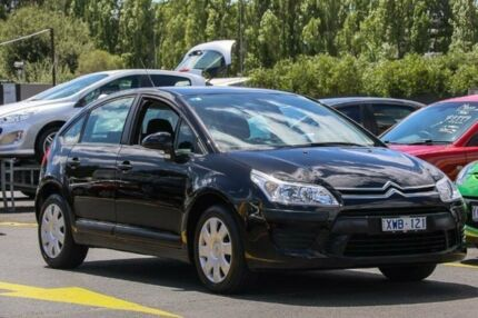 2009 Citroen C4 Black 4 Speed Automatic Hatchback Ringwood East Maroondah Area Preview