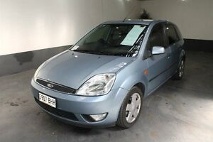 2005 Ford Fiesta WP Ghia Blue 5 Speed Manual Hatchback Pennington Charles Sturt Area Preview