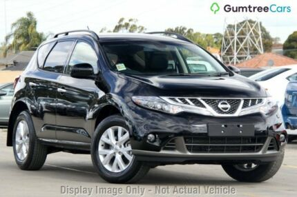 2013 Nissan Murano Z51 Series 3 ST Black 6 Speed Constant Variable Wagon