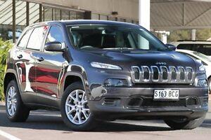 2014 Jeep Cherokee KL MY15 Sport Grey 9 Speed Sports Automatic Wagon Christies Beach Morphett Vale Area Preview