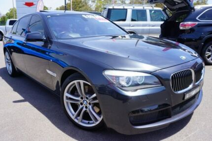 2012 BMW 730d F01 MY0911 Steptronic Black 6 Speed Sports Automatic Sedan Phillip Woden Valley Preview