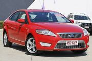 2008 Ford Mondeo MA TDCi Red 6 Speed Sports Automatic Hatchback Rothwell Redcliffe Area Preview
