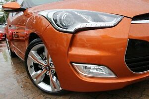 2012 Hyundai Veloster FS + Orange 6 Speed Auto Dual Clutch Coupe Zetland Inner Sydney Preview