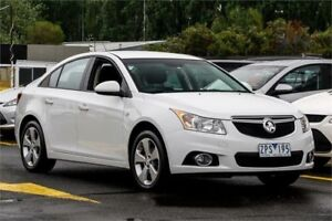 2013 Holden Cruze JH Series II MY14 Equipe White 6 Speed Sports Automatic Sedan Ringwood East Maroondah Area Preview