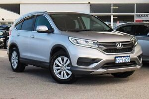 2016 Honda CR-V RM Series II MY17 VTi 4WD Silver 5 Speed Sports Automatic Wagon Osborne Park Stirling Area Preview