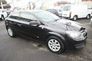 2006 Holden Astra AH MY06 CD Black 5 Speed Manual Coupe Kingsville Maribyrnong Area Preview