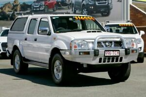 2013 Nissan Navara D22 S5 ST-R White 5 Speed Manual Utility Cleveland Redland Area Preview
