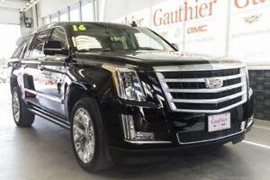 2016 Cadillac Escalade ESV Premium Collection AWD, Sunroof, Nav.