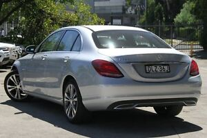 2016 Mercedes-Benz C200 205 MY16 Silver 7 Speed Automatic Sedan Petersham Marrickville Area Preview