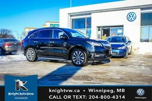 2014 Acura MDX AWD w/ Tech Package/Low KM