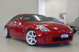 2004 Nissan 350Z Z33 Touring Red 5 Speed Sports Automatic Coupe Myaree Melville Area Preview
