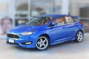 2015 Ford Focus LZ Titanium Blue 6 Speed Automatic Hatchback Berwick Casey Area Preview